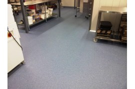 Linoleum - Covor PVC Tarkett -gri - ieftin - trafic intens - antiderapant - cabinete medicale - clinici - spitale - REKORD 42