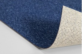 Mocheta albastra pentru birouri cu trafic intens  Quartz 75 Balta