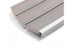 Deck gradina terasa gri inchis Relazzo Sasso 140 mm