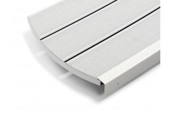 Deck Gri Deschis din Compozit Relazzo gri deschis R20-D475 ciottolo 194 mm
