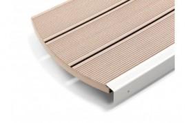 Deck Plin  Terasa Relazzo bej Ambra Rehau 140 mm