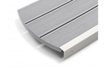 Deck Wpc Compozit gri Rehau Sasso Plin 140 mm
