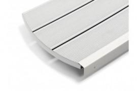 Deck Gri Deschis din Compozit Relazzo Ciottolo Plin 140 mm