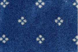 Mocheta albastra moderna cu Model de Trafic Chambrod 10 Balta ITC