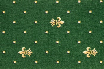 Mocheta verde cu model CRIN IMPERIAL, petru hotel, pensiuni, sali conferinta Bach PM 23 Balta ITC