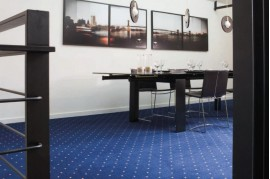 Mocheta albastra camere de lux pentru hoteluri Strauss 73 de trafic intens Balta ARC Edition