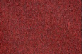 Mocheta rosie pentru birou tip dale fara lipire de trafic intens  Modulyss Alpha 332